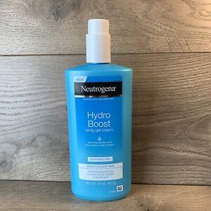 Lightweight Non-Greasy Body Gel Cream for Smooth & Hydrated Skin (16oz)