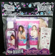 Disney Violet Set for Travel Perfume 70ml+Shampoo+Shower Gel + Stickers