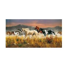 Clementoni Massive 13200 Piece Puzzle Band of Thunder Wild Horses James Hautman
