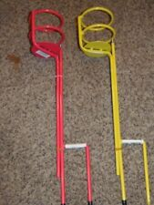 2 - Guidesman Yard Beverage Holders - Yellow/Pink - Other Colors Available(Rm-1)