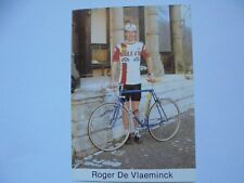 wielerkaart 1980 team boule d'or colnago   roger de vlaeminck