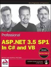 Professional ASP.NET 3.5 SP1 Edition: In C# and VB (Wrox Programmer to