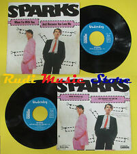 LP 45 7'' SPARKS When i'm with you Just because you love me 1980 no cd mc dvd