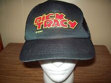 Vintage Dick Tracy Disney Comic Movie Advertising Snapback Trucker Hat