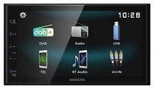 Kenwood DMX125DAB Doppel-DIN MP3-Autoradio Touchscreen DAB Bluetooth USB iPod AU