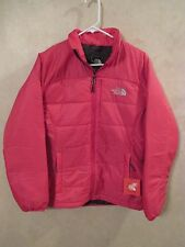 NWT WOMEN'S THE NORTH FACE SZ M PASSION PINK DENTELLES PUFF JACKET COAT