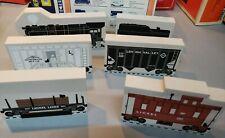 "Lionel The Cat's Meow Village ""Steam Turbine"" Set 6-Piece Train Set"