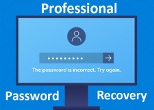Professional Password Recovery Tool for Microsoft Windows 10, 8, 7, Vista and XP