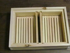 Wooden Hive Top Honeybee Feeder For The Honey Maker Bee Hive