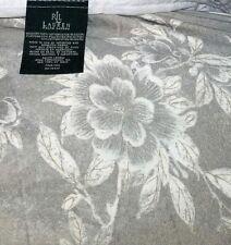 "Ralph Lauren Odeon Bed Skirt Dust Ruffle Toile Floral Split Corner Ca King 13""d"