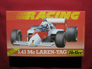 1987 Honda McLaren TAG Alain Prost Heller 1:43 F1 Racing Model Kit Rare Vintage
