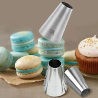 #1A Stainless Steel Icing Piping Nozzle Baking Mold Cake Decorating Tool UK