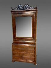 Commode Toilette armoire acajou Napoléon III