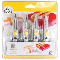"""Decorative Scissors 5.5"""" 4/Pkg Deckle, Wave, Scallop & Zigzag 015586945126"""