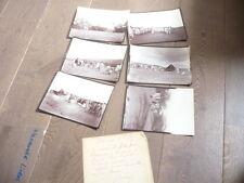 6 GRANDES PHOTOS ABYSSINIE 1895 VOYAGE affaire  Dubois-Desaulle