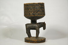 """Skillfully Carved Dogon Container 14.5"""" - Mali - African Art"""