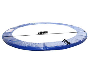 10Ft Replacement Outdoor Round Trampoline Safety Spring Pad Cover