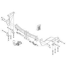 Brink Towbar for Peugeot 4007 2007-2012  - Detachable Tow Bar