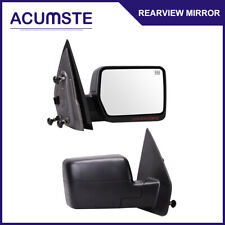 Power Heated Mirror For 04-06 Ford F150 w/LED Signal Light Passenger Side Right