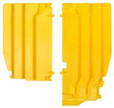 Polisport Yellow Radiator Louvers for Suzuki 2010-18 RMZ 250 RMZ250 8456100002