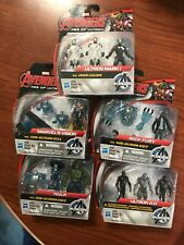 Marvel Avengers Age of Ultron Action Figures Lot: Hulk, Nick Fury, SubUltra more