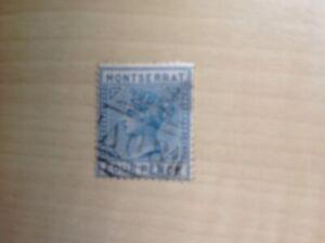 Montserrat Stamp 4d 1880 SG 5 Used