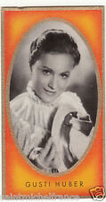 GUSTI HUBER  ACTRESS ACTRICE UNITED STATES ÉTATS UNIS IMAGE CARD 30s