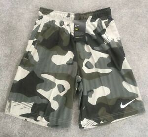 Mens Nike Dry Camo Shorts Running Gym Fitness Basketball Holiday Limited Edition