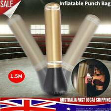 150CM Inflatable Punching Bag Standing Punch Speed Boxing Training Adult Durable