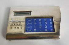 CALCULATRICE EURO/FRANC POUR LES DEPUTES DE L'ASSEMBLEE NATIONALE 1999