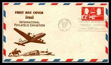 GP GOLDPATH: US POSTAL STATIONARY 1947 AIR MAIL, NEW YORK, NY. F.D.C. _CV429_P13