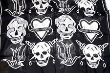 Cráneo de Alexander McQueen de gran tamaño de tatuaje Pashmina Bufanda Regalo Perfecto BNWT
