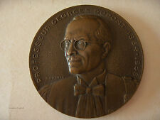 MEDAILLE  PROFESSEUR GEORGES DUPONT 1884-1958 DOYEN DE LA FACULTE DES SCIENCES