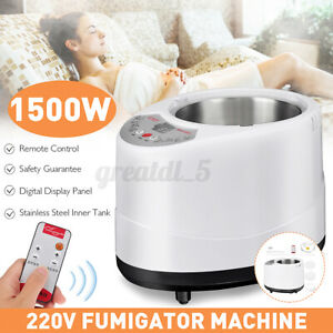 3.0L 1500W Generator For Sauna Steam Tent Fumigation Machine Home Steamer 220V