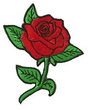 Patch écusson patche Rose anglaise rugby fleur thermocollant badge