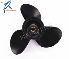 Aluminum Alloy Propeller for Suzuki Johnson 25hp 30hp 10 1/4 x 11 K Boat Engine
