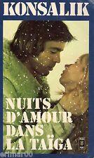 Nuits d'amour dans la taïga / H.G. KONSALIK // Suspense // Espionnage // Amour