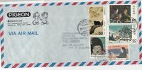 Japan 1981 Airmail to W.Germany Tokyo Cancels Assorted Stamps Cover Ref 23661