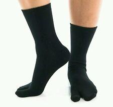 Tabi Flip Flop Toe Sandle Unisex casual black Socks  ~1 pair~ Express Pro USA