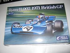 1:20 Tyrrell Ford 002 F. Cevert British GP 1971 EBRO Nr. 008-5800 Bausatz Kit