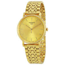 Tissot T-Classic Everytime Gold Dial Men's Watch T109.410.33.021.00