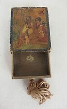 ancienne boîte à parfum ? carton scènes japonaises antique perfume box japanese