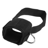Ankle D-ring Strap Weight Lifting Gym Foot Cable Attachment Thigh Leg Pulley