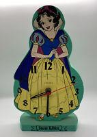 Vintage Snow White Foam Puzzle Clock by Linden