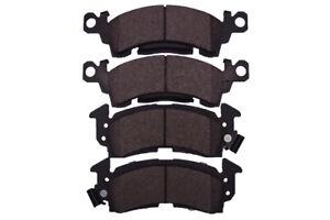 Disc Brake Pad Set-Semi Metallic Pads Front Dash 4 Brake MD52