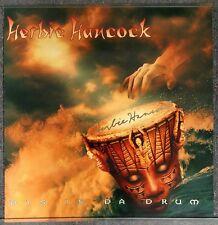 Herbie Hancock Dis Is Da Drum 1994 HAND SIGNED POSTER autograph