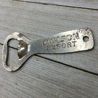 Vintage Metal Molson Export Canadian Beer Bottle Opener