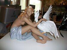 Lladro # 2444, Leda and the Swan, 2002---