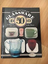 Collectible GLASSWARE from the 40's 50's 60's - BEAUTIFULLY ILLUSTRATED hc/ ..