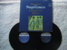"""DIANA ROSS AND THE SUPREMES """"GREATEST HITS"""" LP 2 LP'S AUTOGRAPHED BY DIANA ROSS"""